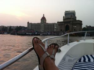Chillin on my boat